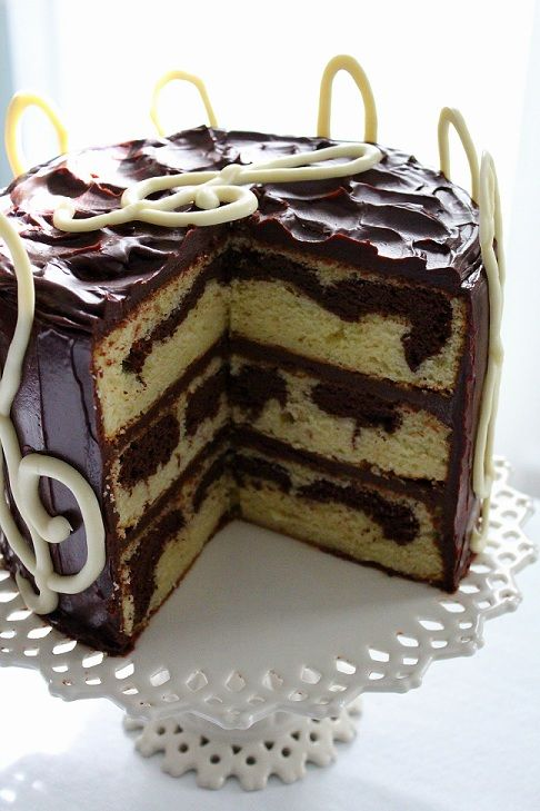 17 Best Images About Chocolate Marble Cake On Pinterest