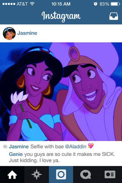 If Disney Princess Had Instagram - Disney Princesses Reimagined