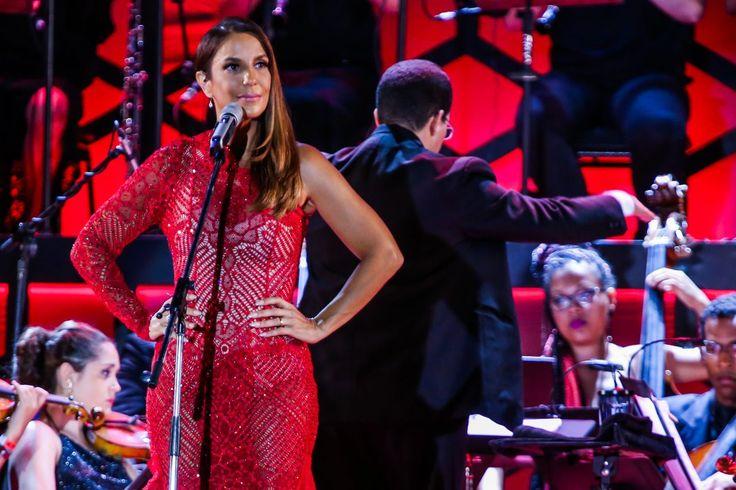 Ivete Sangalo teve ataque de ciúmes e chamou a atenção do marido no meio de um show (Photo Rio News)
