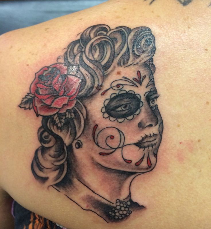 ea5c4a6d8 Roses outline tattoo by Travis Allen at twisted tattoo Yaxley Www