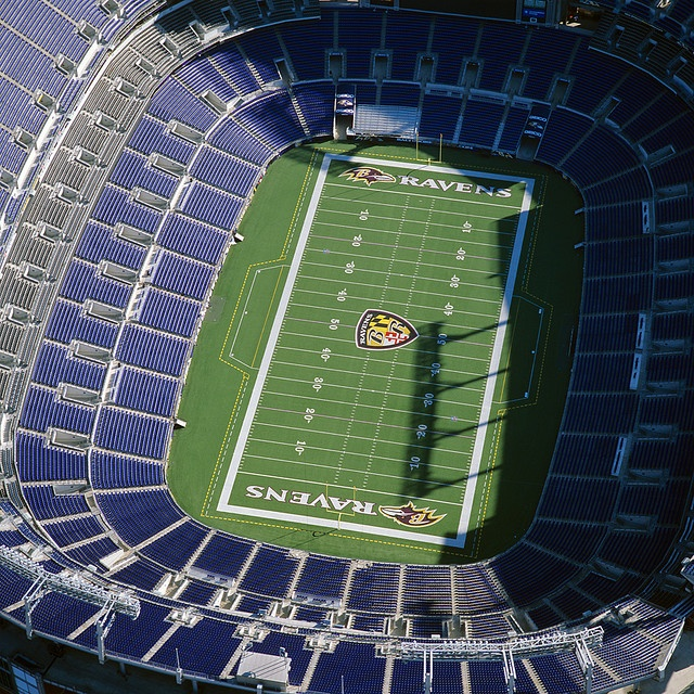 M & T Bank Stadium, Baltimore Ravens of the NFL - Baltimore, MD