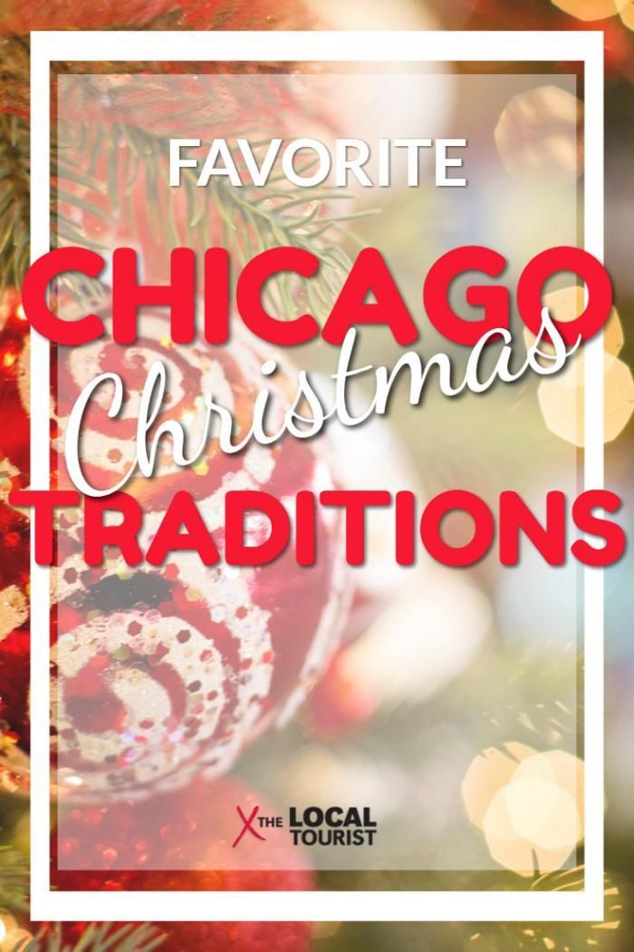 Favorite Chicago Christmas Traditions - Celebrate Christmas in Chicago with these annual holiday events and traditions