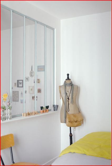 verriere atelier cote chambre /room divider