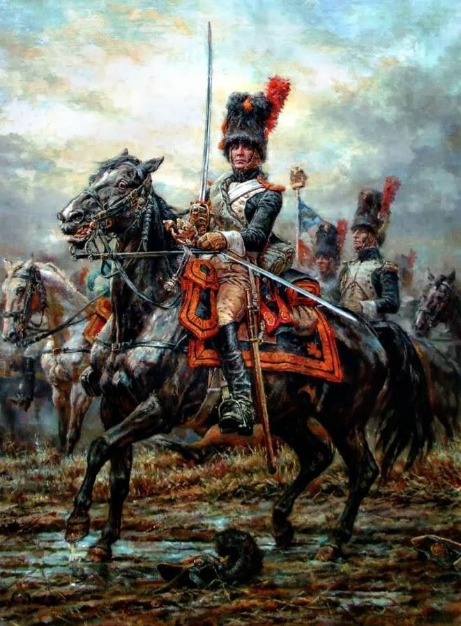 SABRES IN THE SNOW: MURAT AT EYLAU, 1807! - Deadliest Blogger - Scout