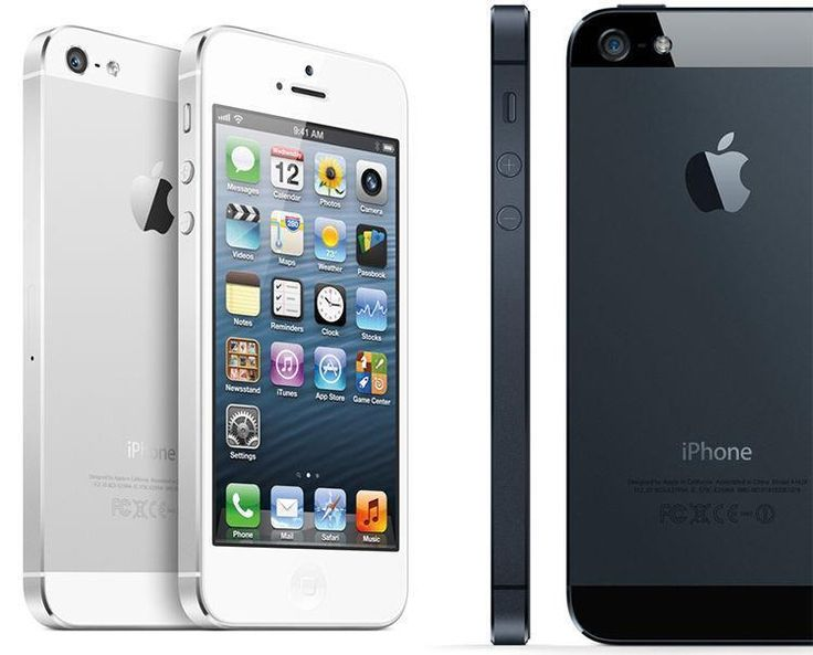 NEW! Unlocked Apple iPhone 5 GSM Black White16GB 32GB 64GB Track Page Views With Auctiva's FREE Counter #black #iphone #apple #unlocked