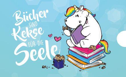 Bücher sind Kekse für die Seele! Wie Recht du hast Pummel!