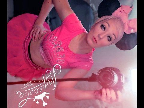 Мини Маус Косплей Мышка Розовое Костюм Своими руками Образ для фотосессии