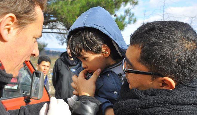Περιμένοντας τους πρόσφυγες