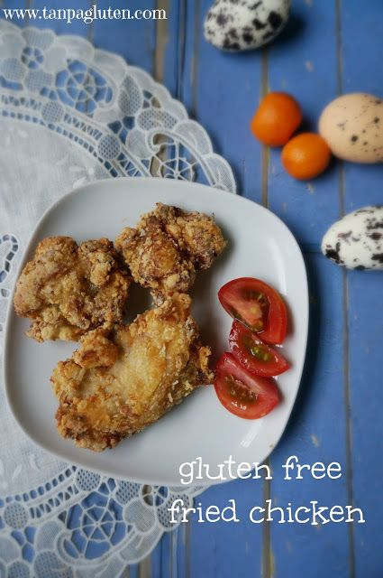 resep bebas gluten: fried chicken gluten free