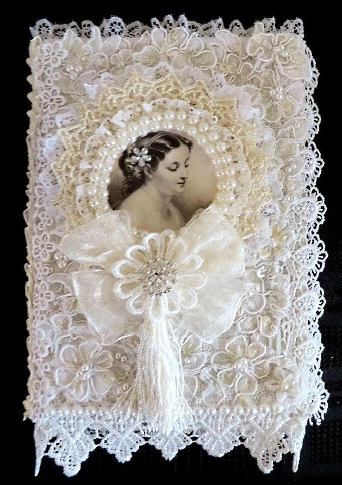 This would make a beautiful bride's prayerbook