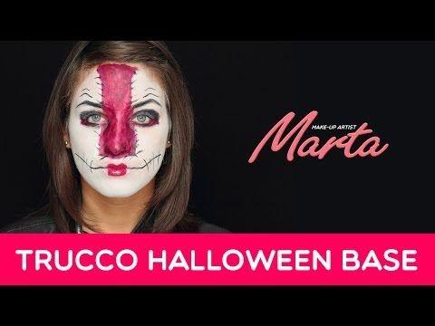 Come Truccarsi per Halloween | Tecniche Base per un Make-up Pauroso | Marta Make-up Artist