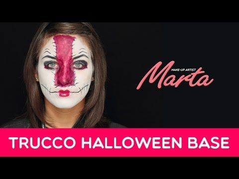 Come Truccarsi per Halloween | Tecniche Base per un Make-up Pauroso | Marta Make-up Artist