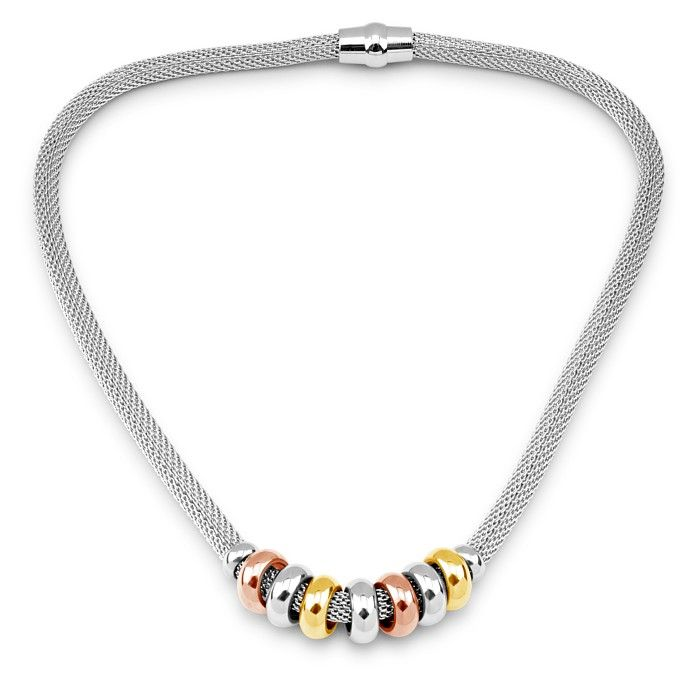 Elegantní náhrdelník West Side z chirurgické oceli 45cm KMMN10364