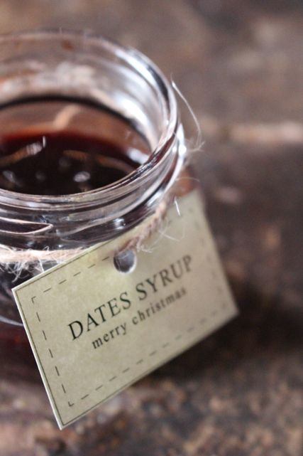 Homemade Dates Syrup (a sweet gift for Christmas)