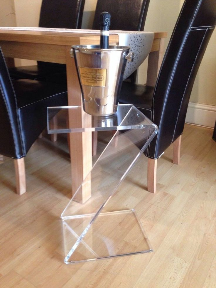 Perspex Acrylic Side Table