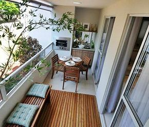 Is that an oven? Love this smart use of balcony!