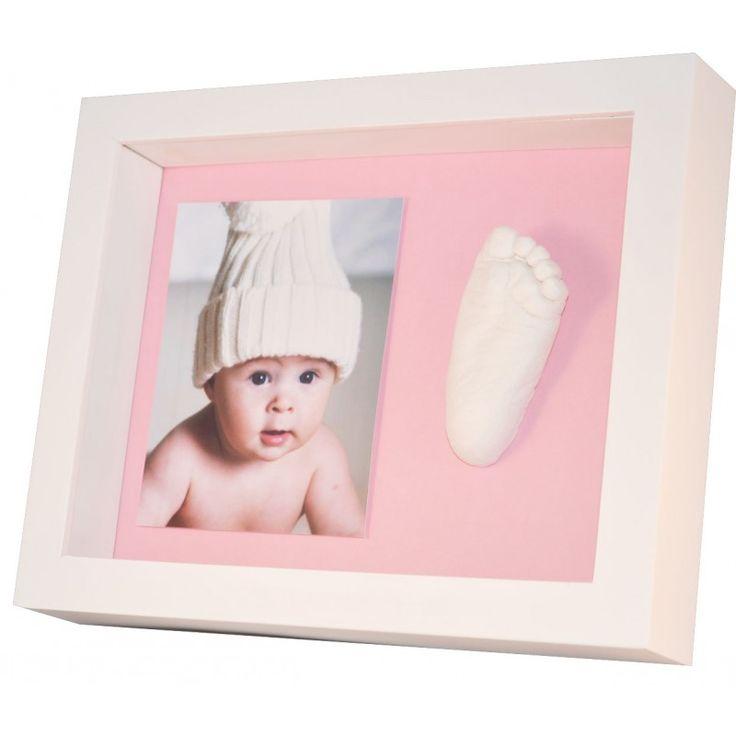 Marco de Fotos para Bebé, Newlemo 3D Marco de Huellas para Niños con ...
