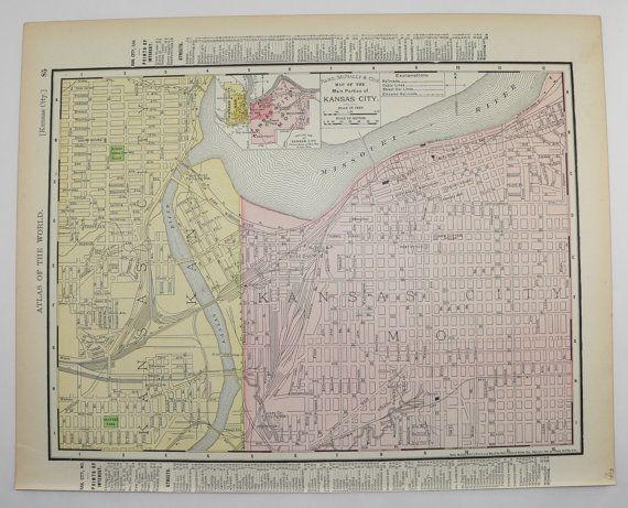 Best 25 Kansas city map ideas on Pinterest
