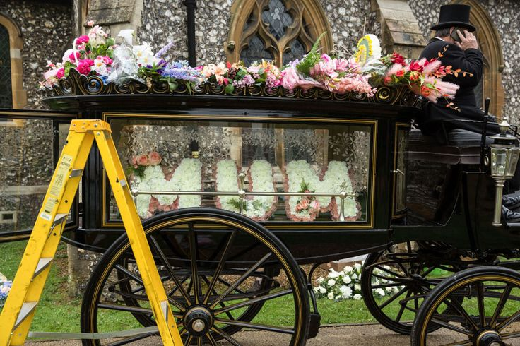 EastEnders: Peggy Mitchell's funeral - see the first-look pictures