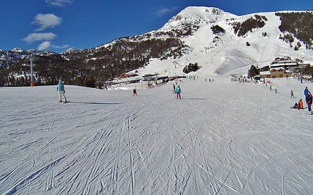 @grandvalira #andorra #hoy tiempo excelente buena nieve y buena compañia! #grandsnowday