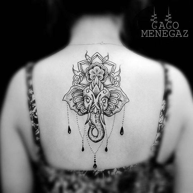 Caco Menegaz mandala tattoo 11