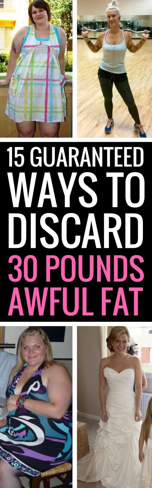 15 surefire ways to shed all unwanted body fat.