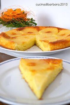 Cucina di Barbara: food blog: Ricetta torta rovesciata all'ananas - senza bilancia