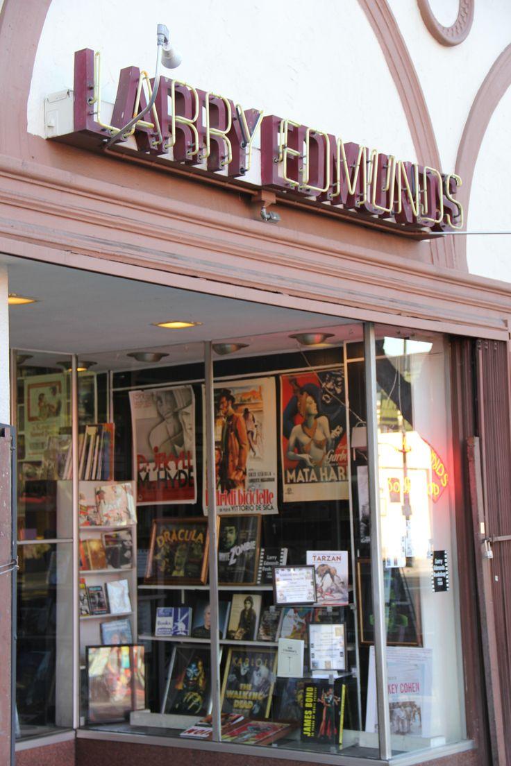 Larry Edmunds Bookshop ~ Los Angeles, California Where Steve Mcqueen  Got His