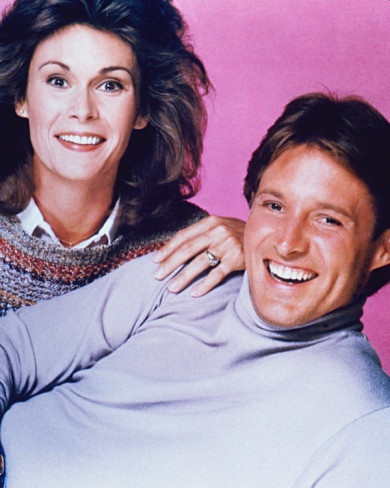 """""""Scarecrow and Mrs King"""" played by Kate Jackson and Bruce Boxleitner"""
