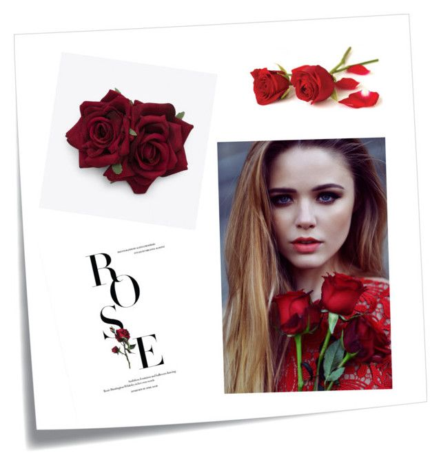 """Rose"" by anicute on Polyvore featuring Post-It, women's clothing, women, female, woman, misses and juniors"