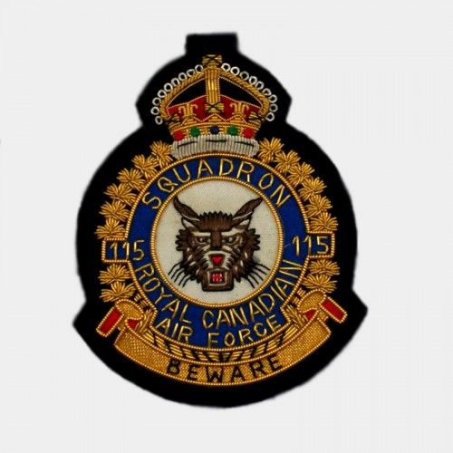 Beware Squadron Badge 115 - Tiger ARMY patch