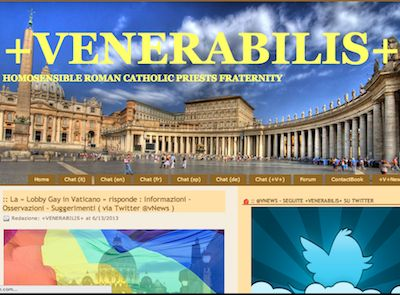 "Gay dating website for ""homosensible"" Catholic priests being run out of the Vatican"