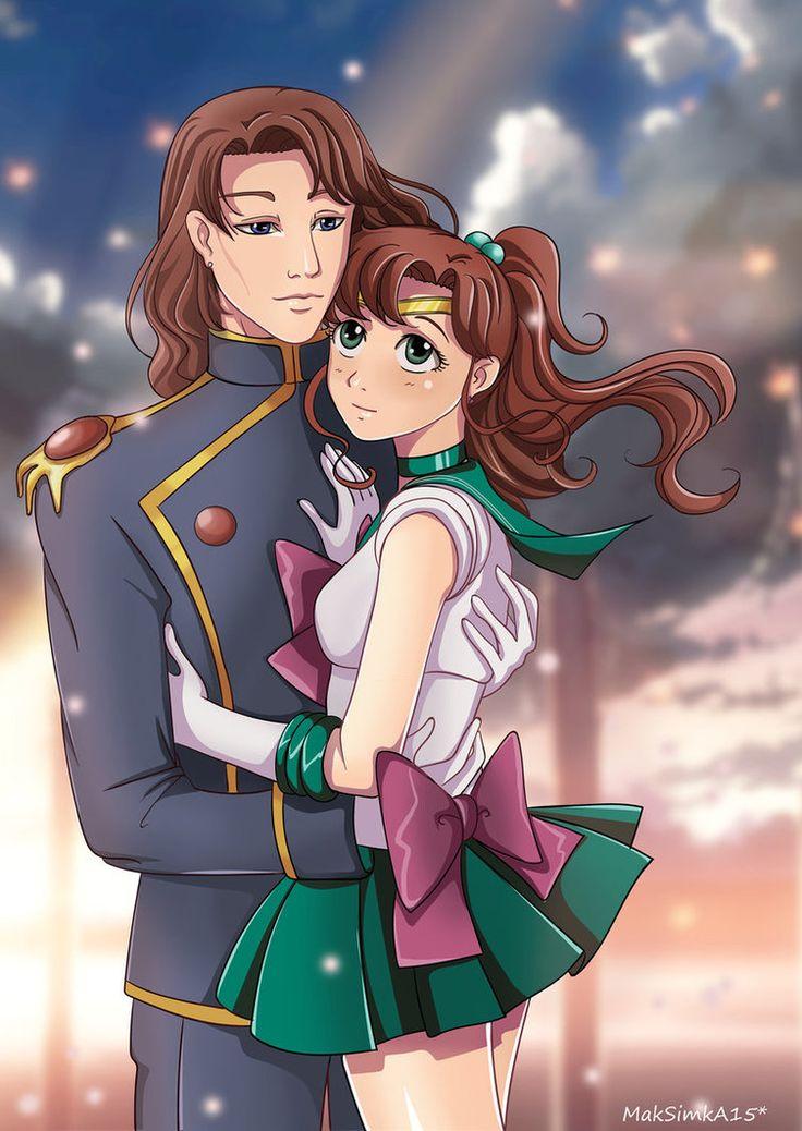 Sailor Jupiter And Nephrite 45 best Jupiter and Ne...
