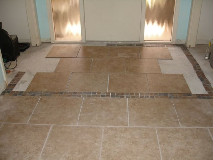 17 best images about front entryway on pinterest for Foyer tile patterns