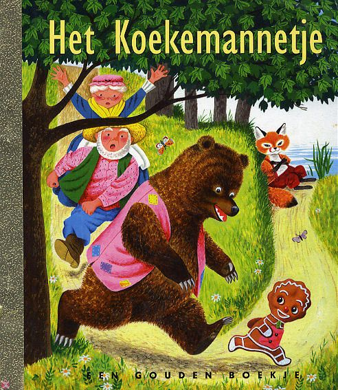 Het Koekemannetje,   Dutch Golden Book