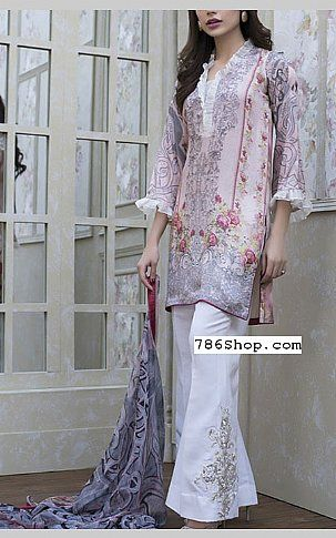 Pink Silk Suit | Buy Zainab Chottani Dresses