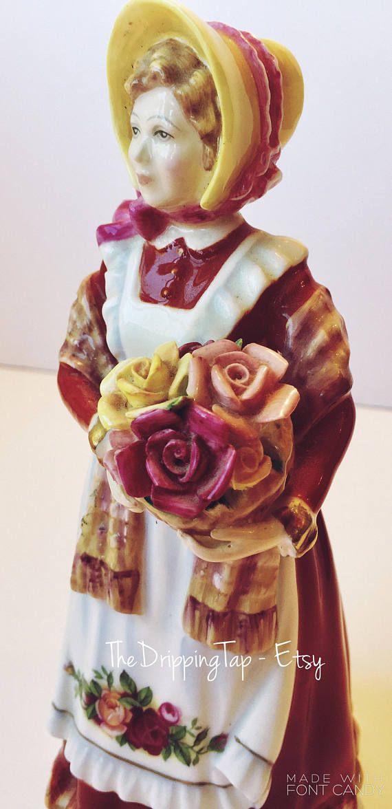 Royal Doulton Old Country Roses Lady Roses Figurine