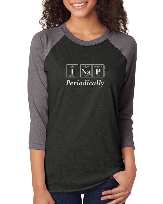 Triblend I NAP PERIODICALLY Periodic Table by periodicallyinspired