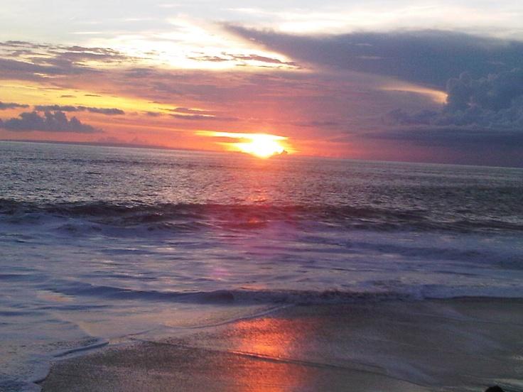 Sunset @Soka beach, Bali, Indonesia