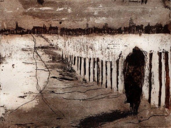 gravure sans titre, 2012  Sylvie Thouron
