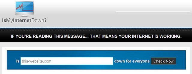 Is My Internet Down: Site Down Status Checker
