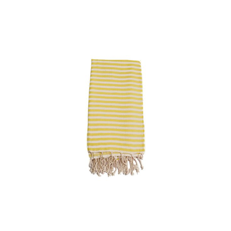 Mediterranean Lemon Cotton Turkish Towel