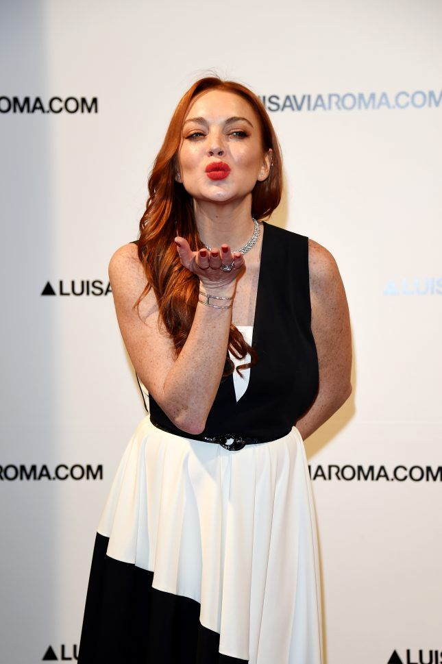 Lindsay Lohan wants to be Ariel in The Little Mermaid remake and she has the hair to prove it.