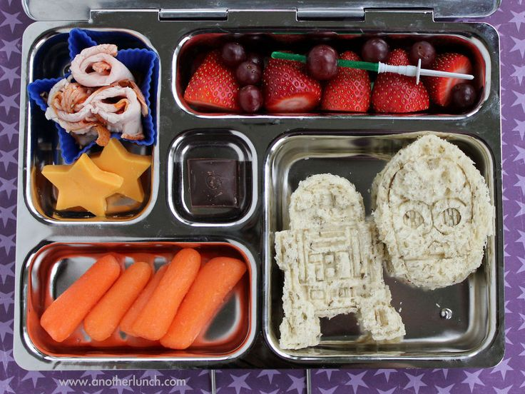 Star Wars-themed school lunch