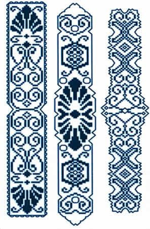 free cross stitch bookmark patterns - Google Search More