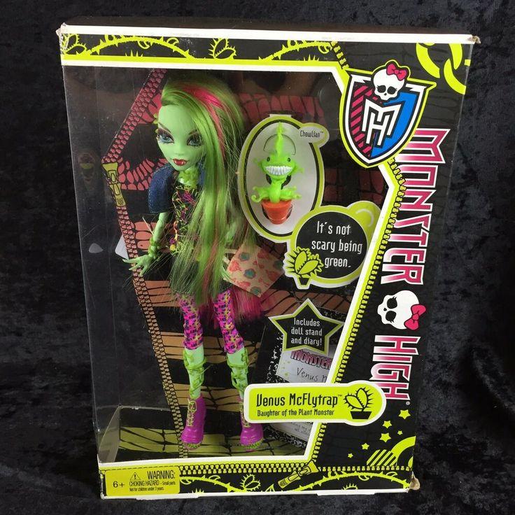 новый кукла монстер хай венера макфлайтрап в коробке развитый популярный пляж