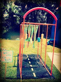 A Boy Named Parker: Kid car wash sprinkler DIY