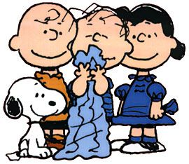 Peanuts, by Charles M. Schulz.