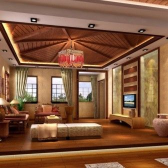Wooden Ceiling Designs For Living Room   Google Search
