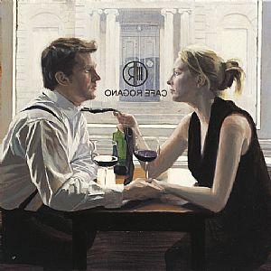 """Romantic Lunch"" ~  Iain Faulkner (Scottish, born 1973)"
